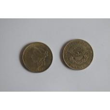 1849 twenty dollars